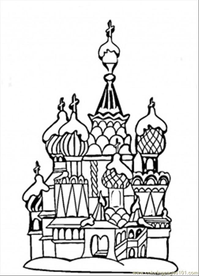 Saint Petersburg coloring #12, Download drawings