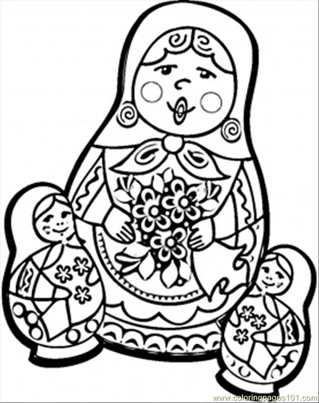 Russian coloring #18, Download drawings