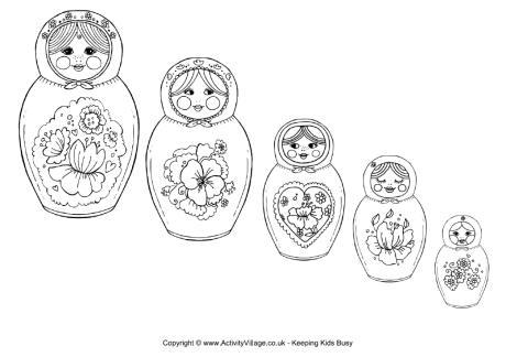 Russian coloring #7, Download drawings