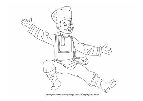 Russian coloring #5, Download drawings