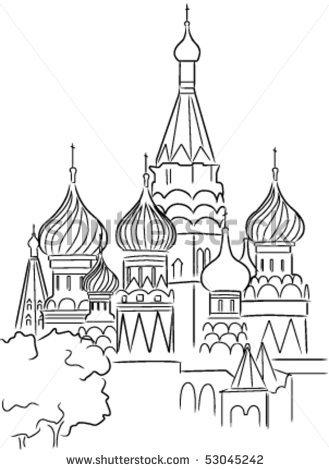 Russian coloring #2, Download drawings