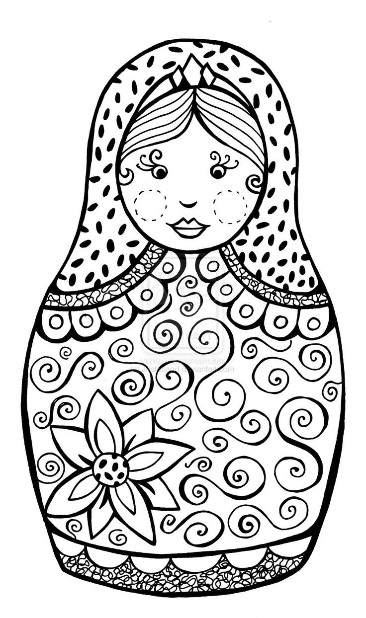 Russian coloring #14, Download drawings