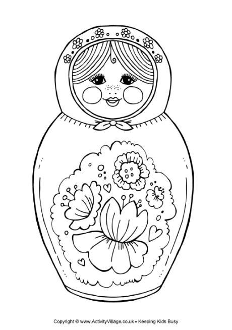 Russian coloring #13, Download drawings