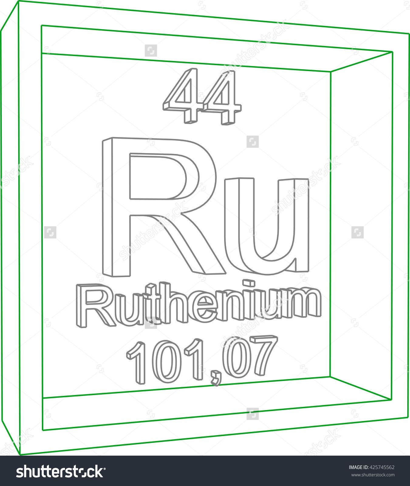 Ruthenium coloring #10, Download drawings
