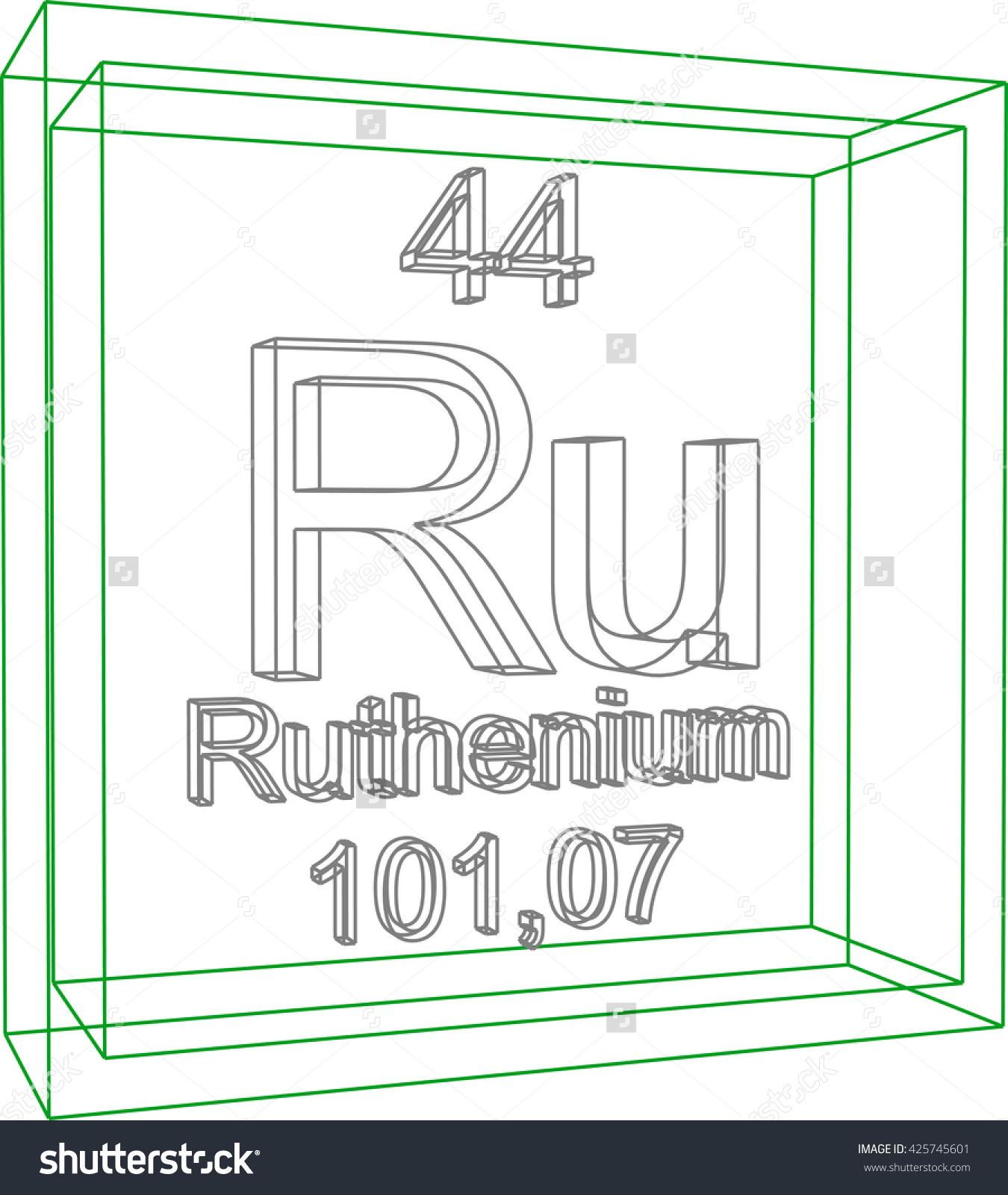 Ruthenium coloring #4, Download drawings