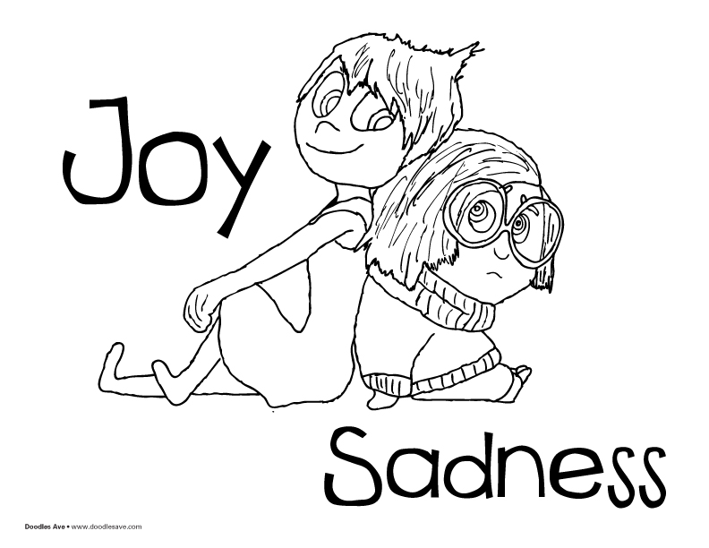 Sadness coloring #16, Download drawings