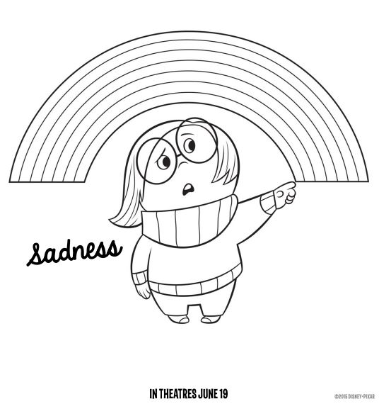 Sadness coloring #20, Download drawings