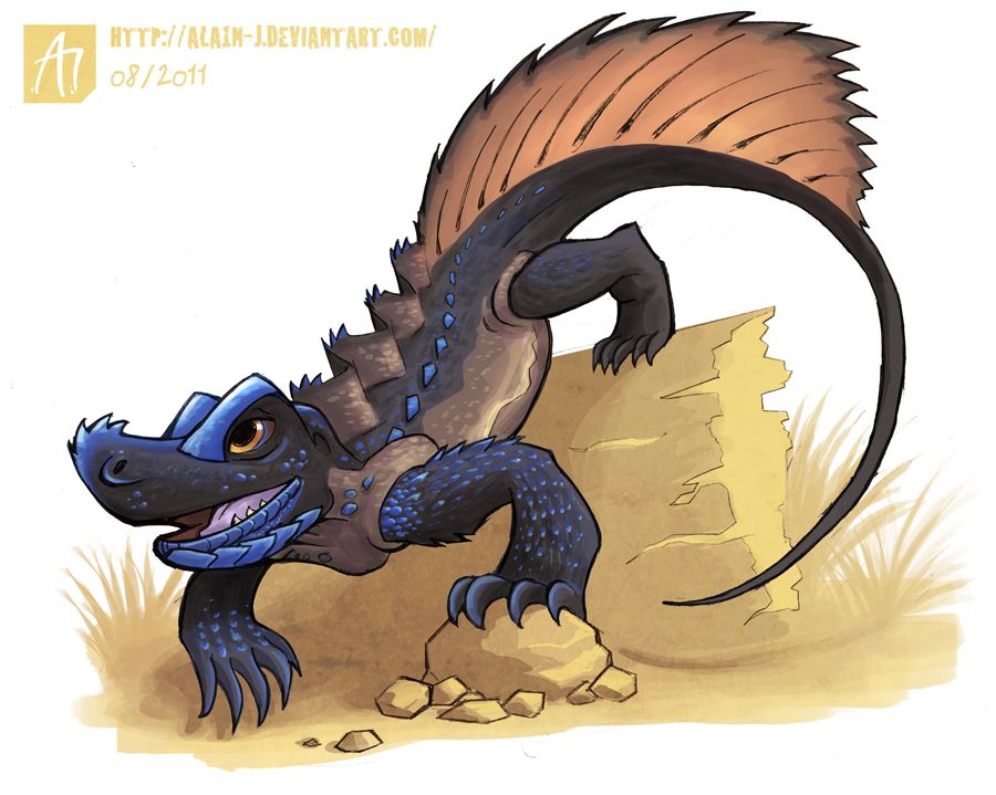 Sailfin Lizard clipart #13, Download drawings