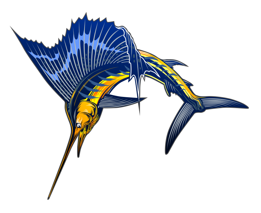 Sailfish clipart #2, Download drawings