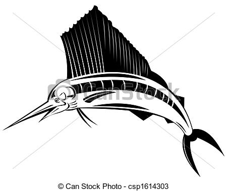Sailfish clipart #10, Download drawings