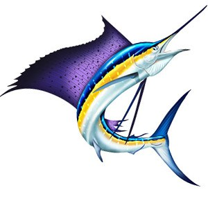Sailfish clipart #4, Download drawings