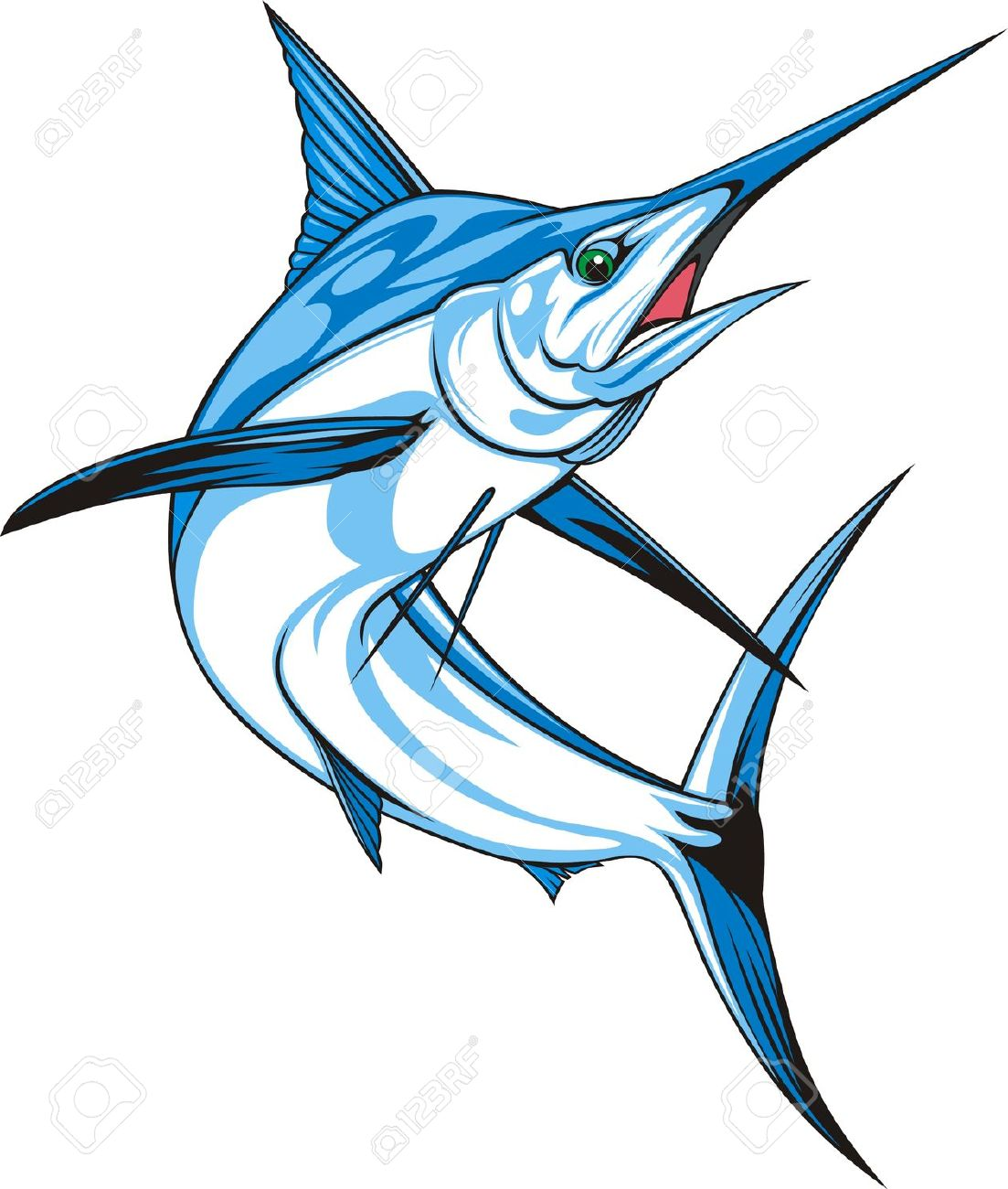 Sailfish clipart #12, Download drawings