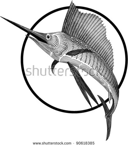 Sailfish svg #1, Download drawings