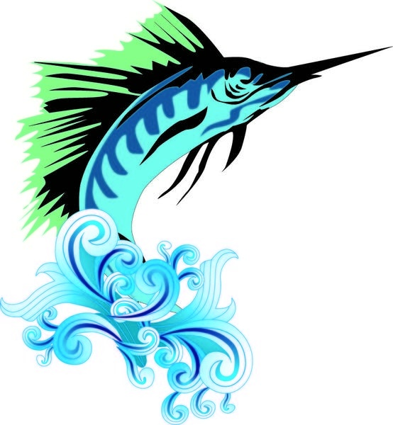 Sailfish svg #6, Download drawings