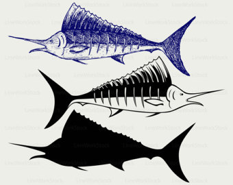 Sailfish svg #16, Download drawings