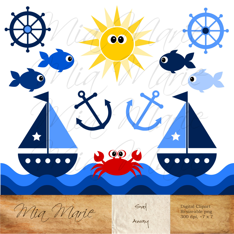 Sailing clipart #6, Download drawings