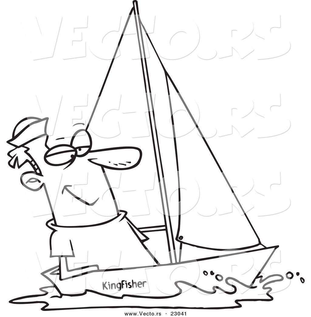 Sailing coloring #5, Download drawings