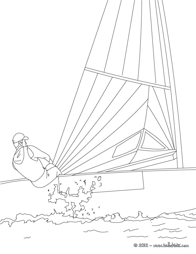 Sailing coloring #1, Download drawings