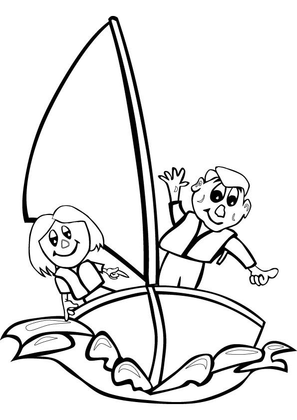 Sailing coloring #18, Download drawings