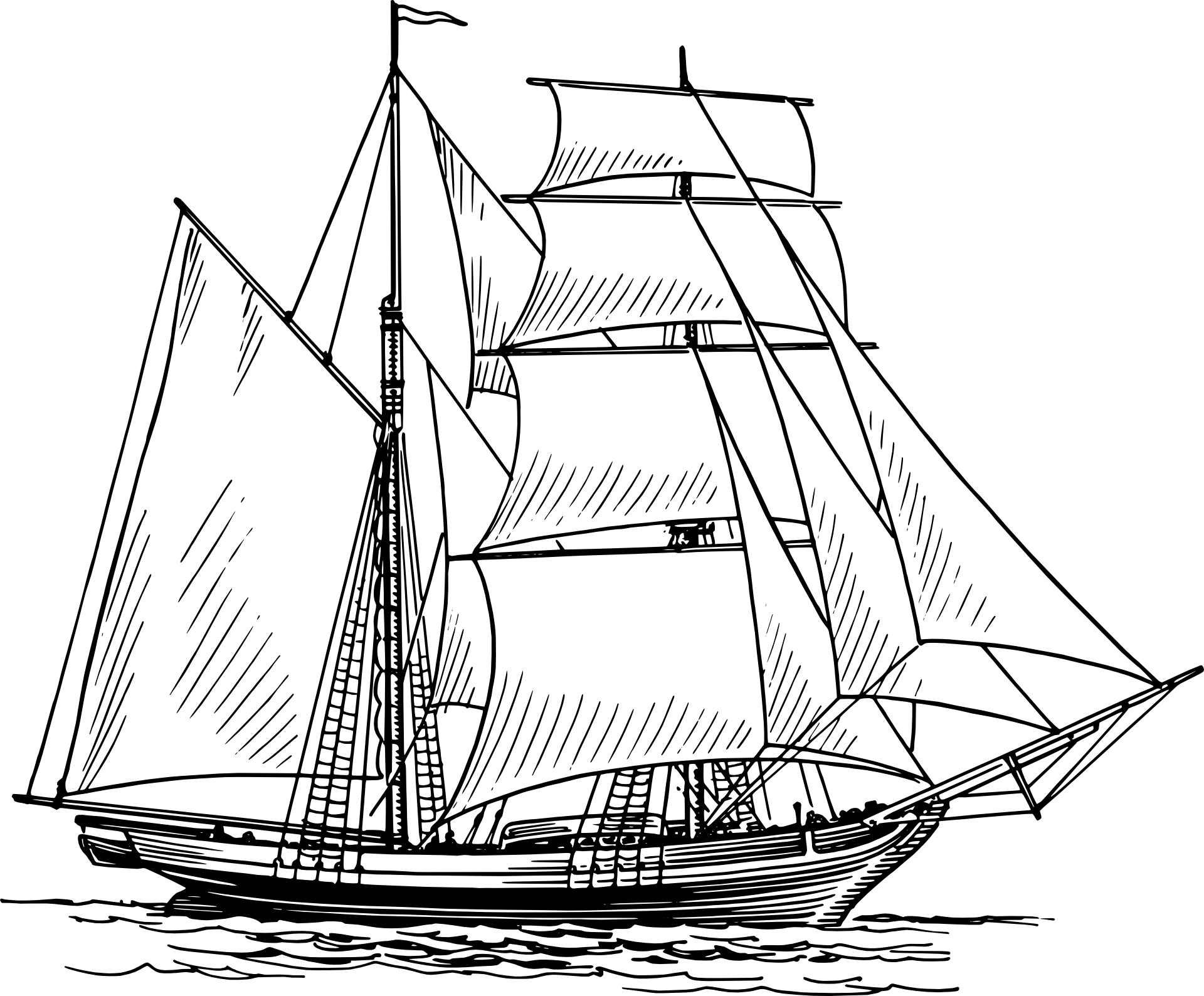 Sails clipart #2, Download drawings