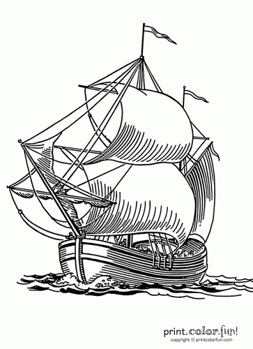 Sails coloring #1, Download drawings