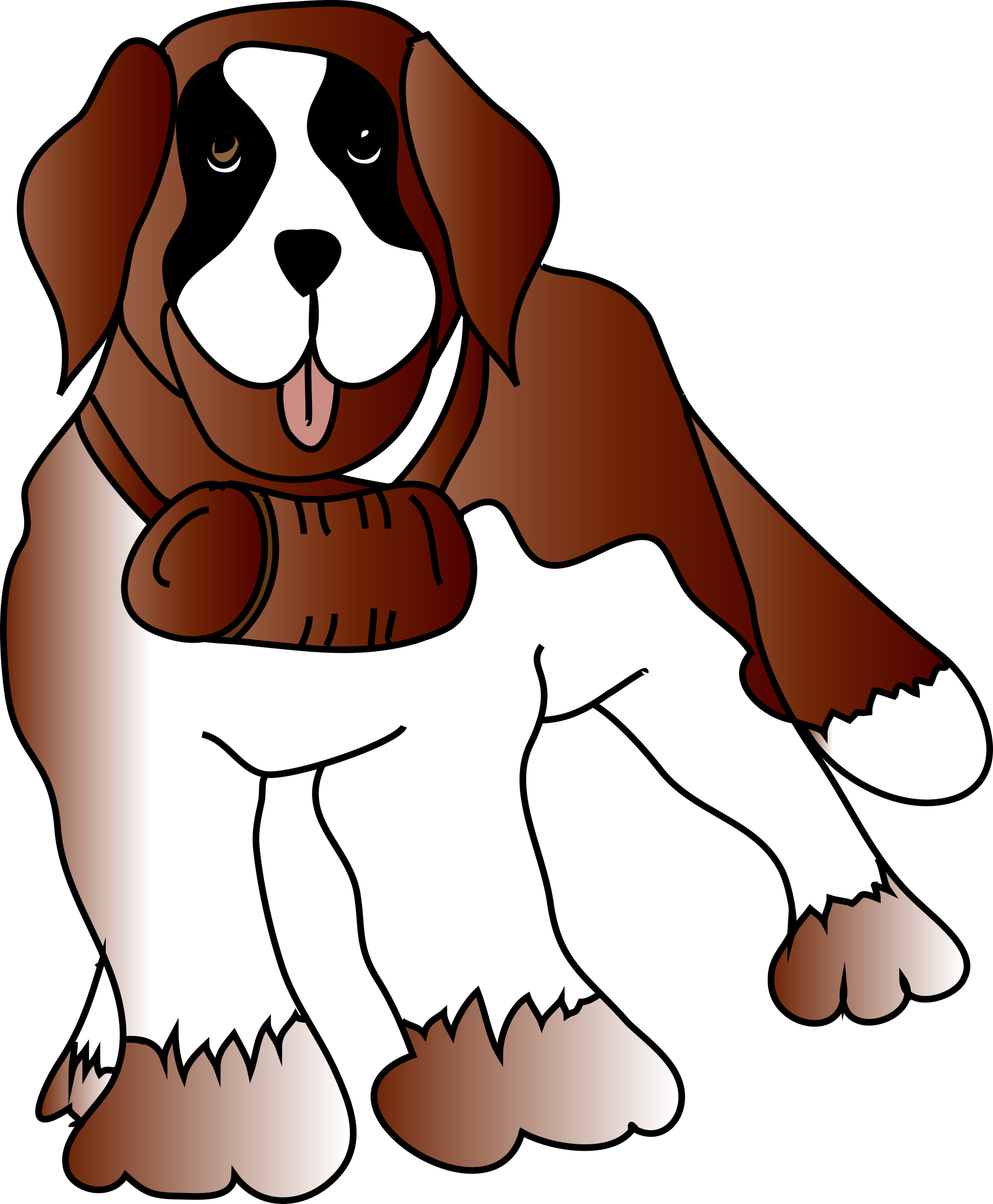 Saint Bernard svg #1, Download drawings