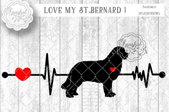 Saint Bernard svg #7, Download drawings
