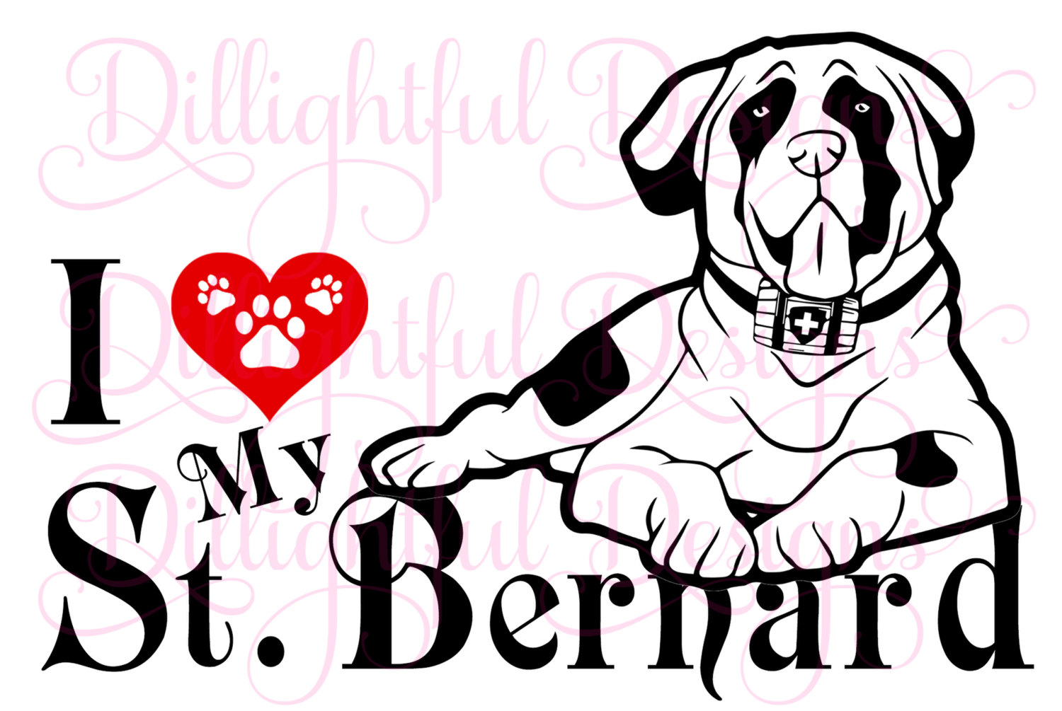 Saint Bernard svg #20, Download drawings