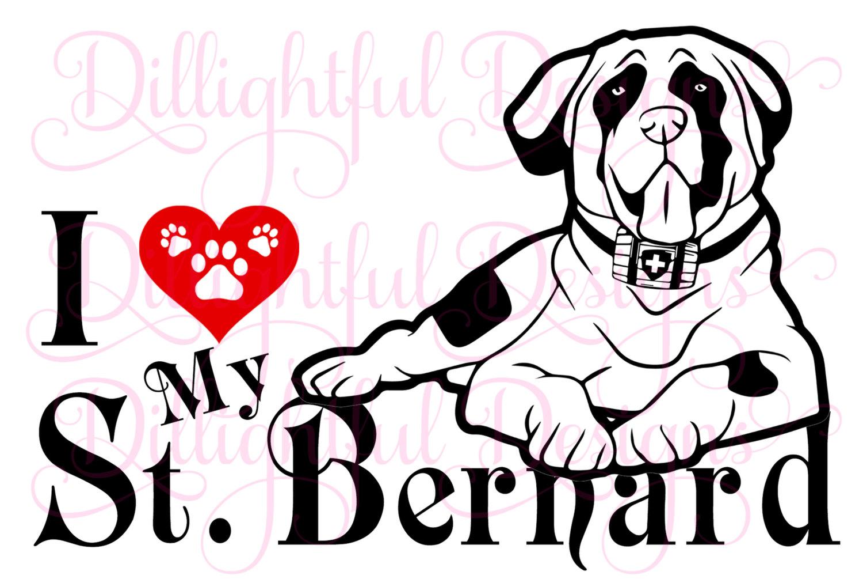 Saint Bernard svg #20, Download drawings