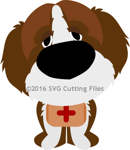 Saint Bernard svg #17, Download drawings