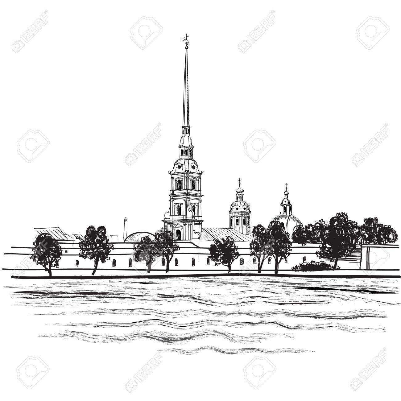 Saint Petersburg clipart #18, Download drawings