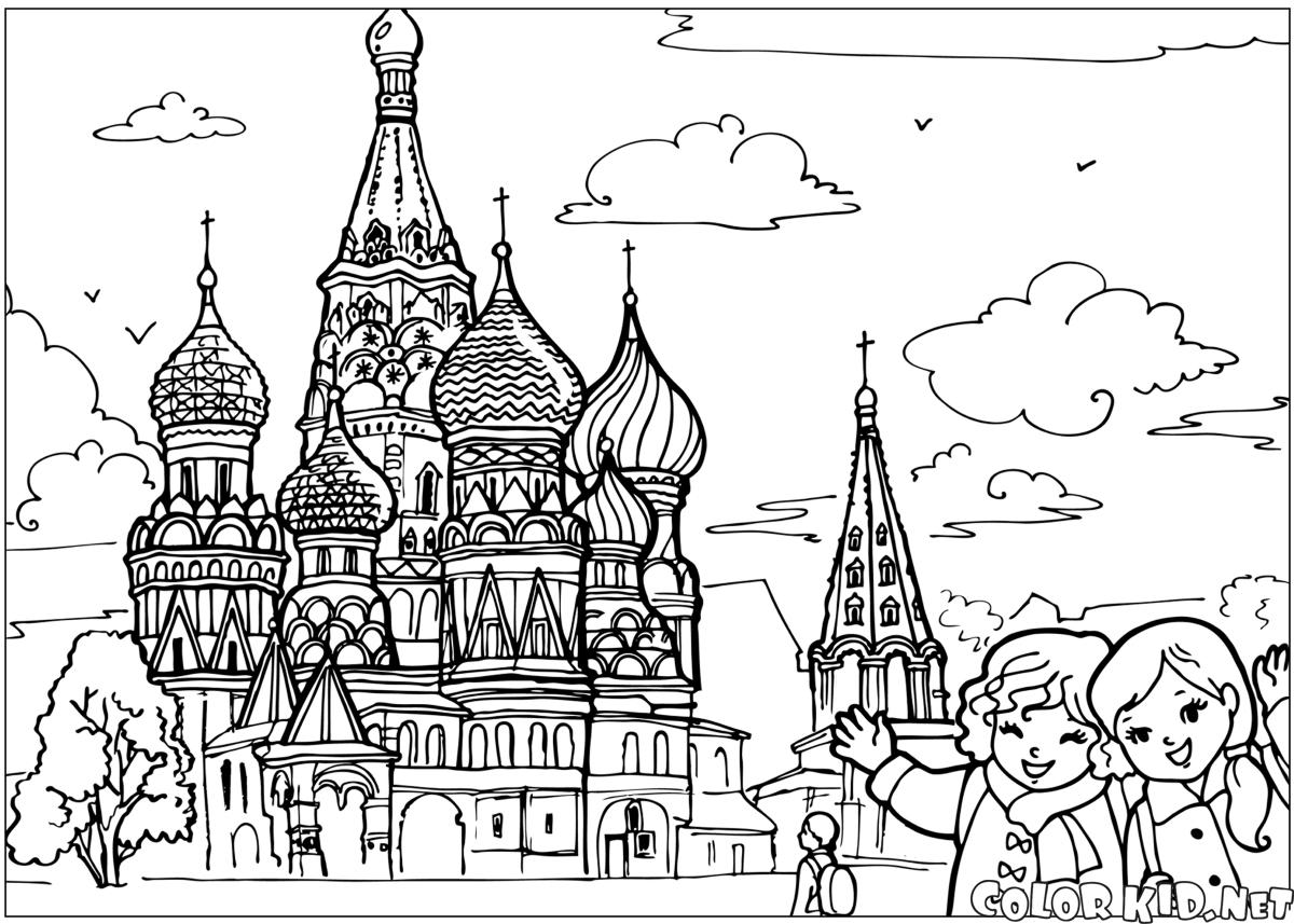 Saint Petersburg coloring #18, Download drawings