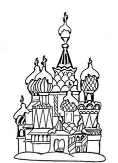 Saint Petersburg coloring #19, Download drawings