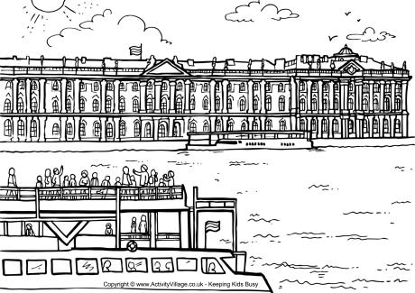 Saint Petersburg coloring #15, Download drawings