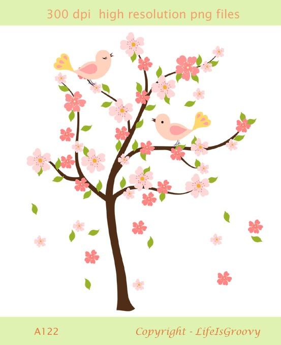 Sakura Tree clipart #1, Download drawings