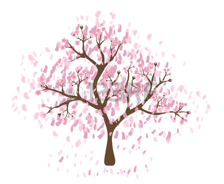 Sakura Tree clipart #7, Download drawings