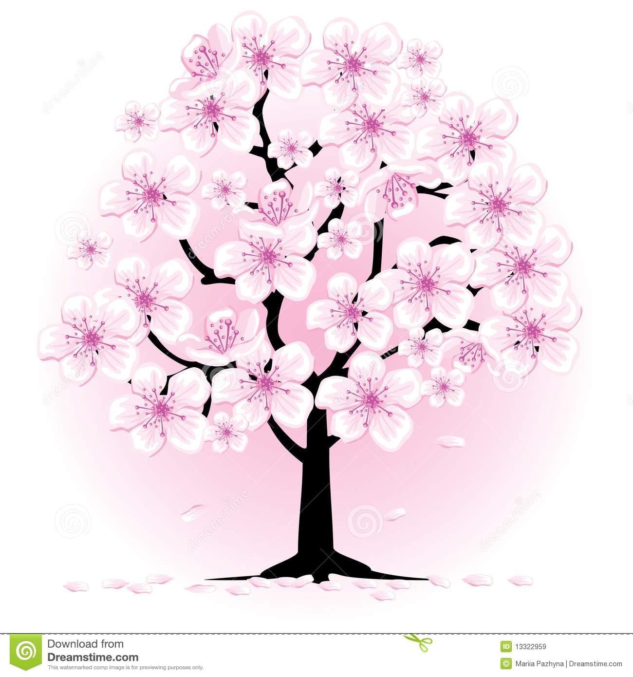 Sakura Tree clipart #2, Download drawings
