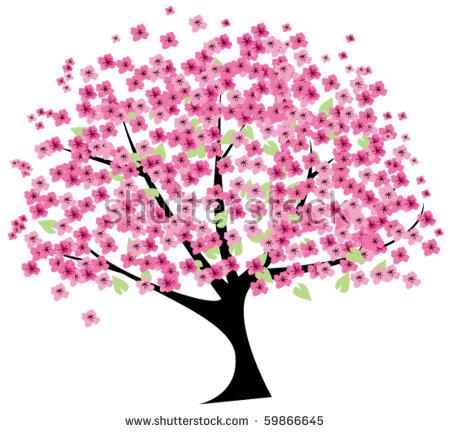 Sakura Tree clipart #5, Download drawings
