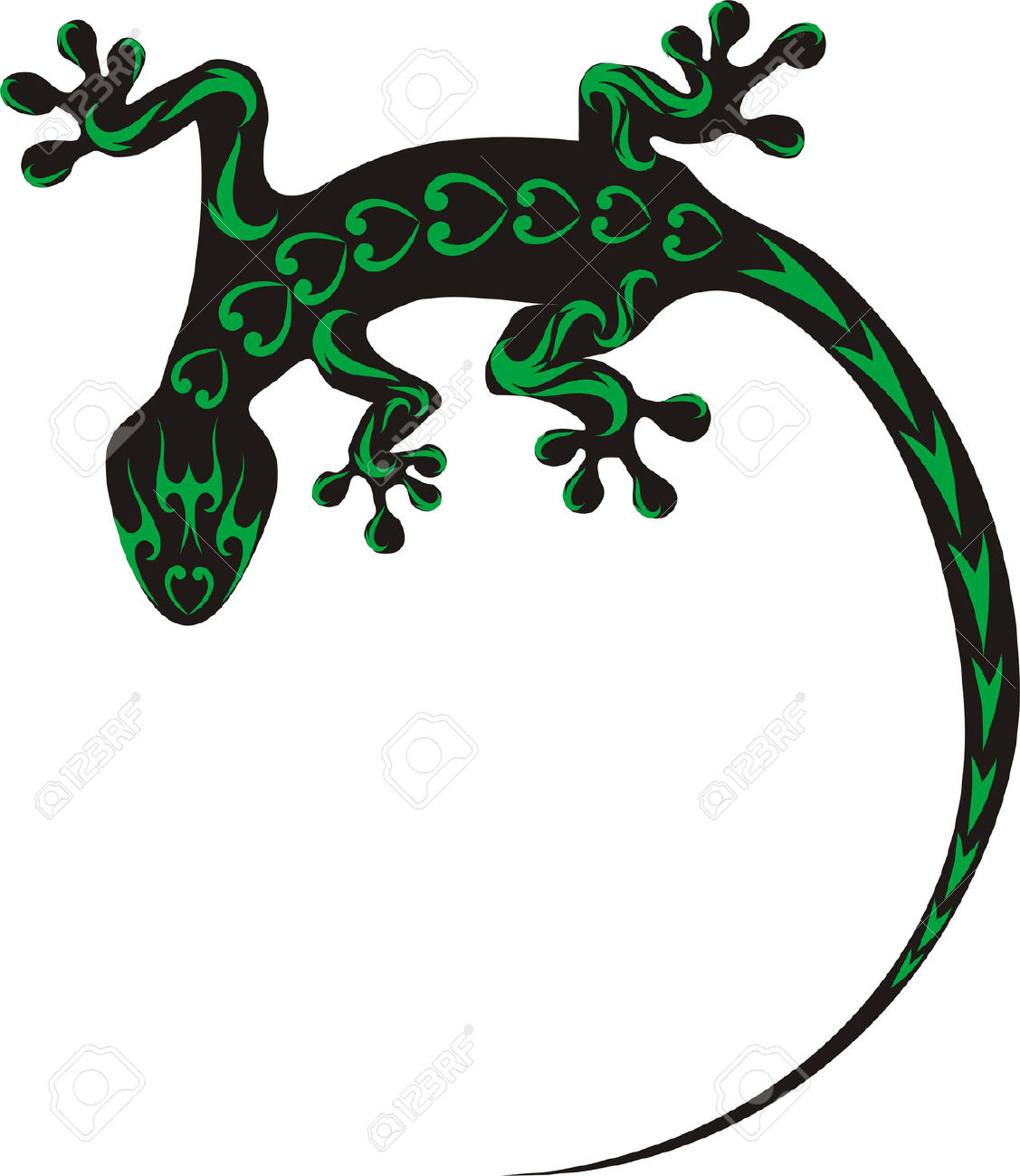 Salamander clipart #2, Download drawings