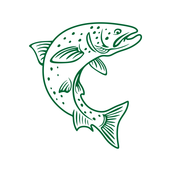Trout svg #3, Download drawings