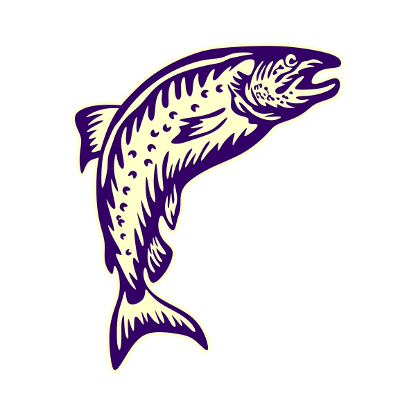 Salmon svg #18, Download drawings
