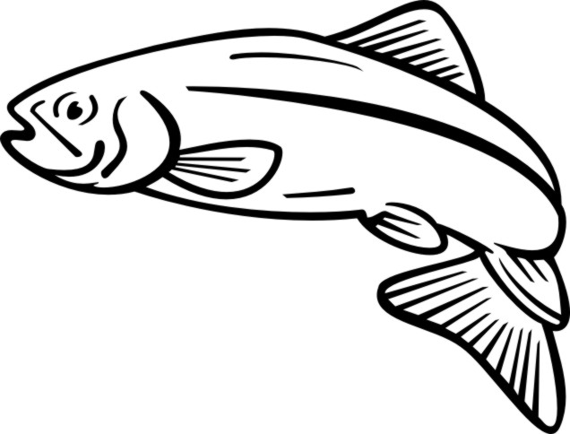 Salmon svg #11, Download drawings
