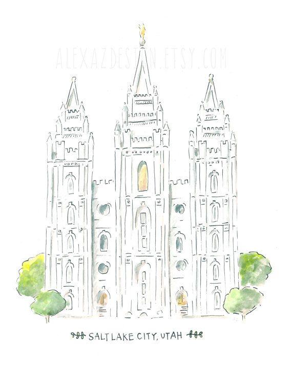 Salt Lake coloring #7, Download drawings