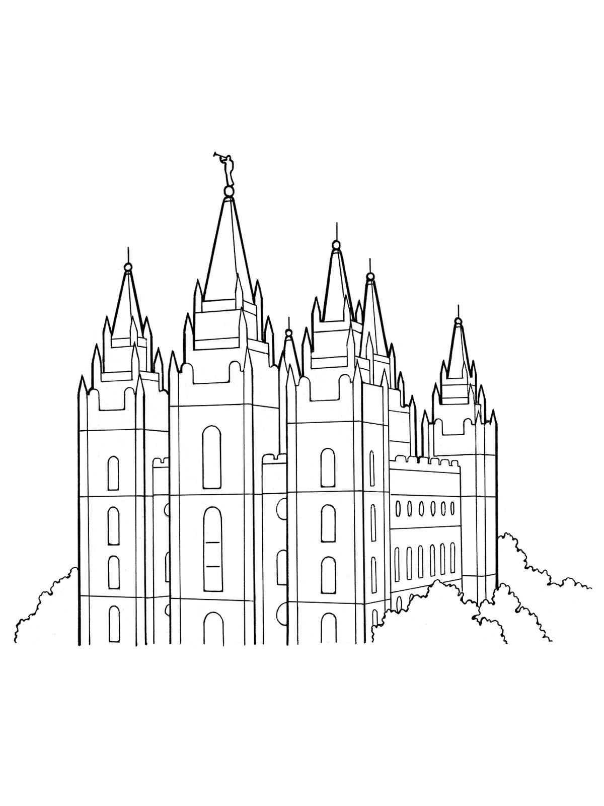 Salt Lake coloring #3, Download drawings
