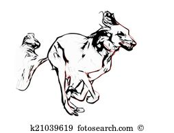 Saluki clipart #4, Download drawings