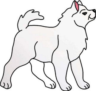 Samoyed clipart #19, Download drawings