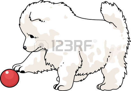 Samoyed clipart #14, Download drawings