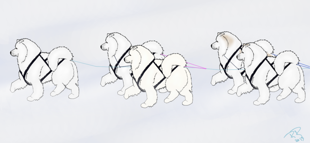 Samoyed svg #15, Download drawings