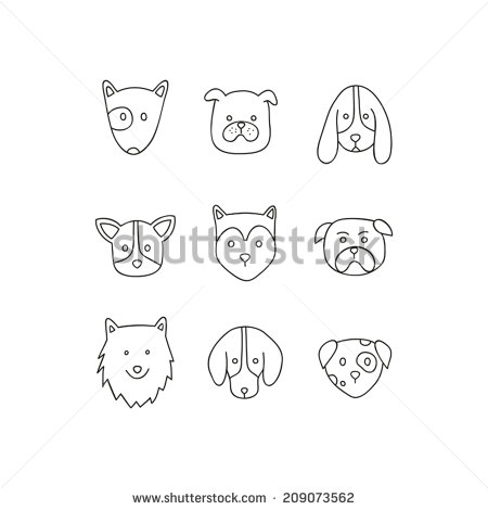 Samoyed svg #7, Download drawings