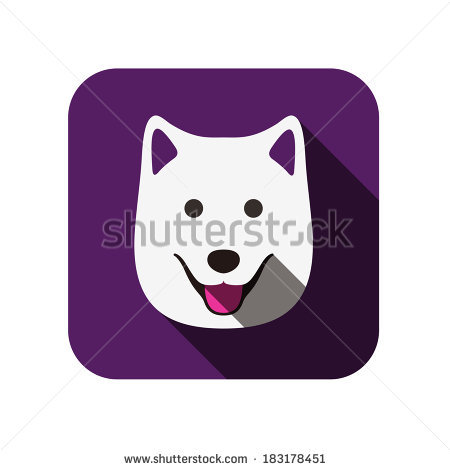 Samoyed svg #12, Download drawings